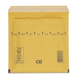 бандерольний пакет для CD 180х165 мм коричневий