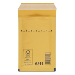 бандерольний пакет 100х165 мм коричневий