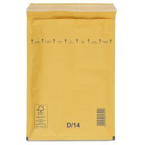 бандерольний пакет 180х265 мм коричневий