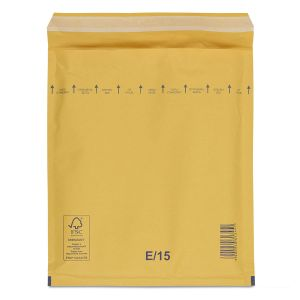 бандерольний пакет 220х265 мм коричневий