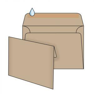 поштовий крафт конверт С6 мк