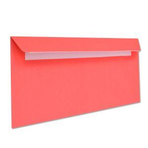 поштовий конверт Е65 кольоровий червоний
