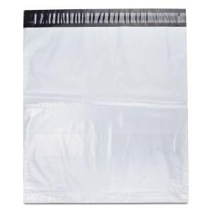 кур'єрські пакети поліетиленові з прозорою кишенею 380х400 мм