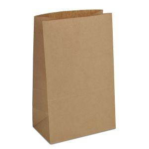 крафт пакет без ручок з пласким дном 15х9х24