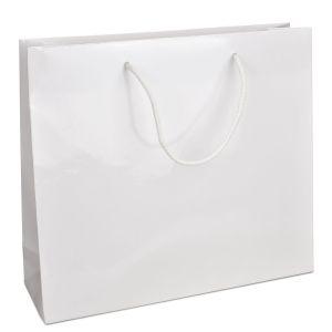 ламінований пакет з ручками 42х13х37 білий