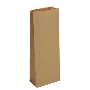 крафт пакет без ручок з пласким дном 7х4х17