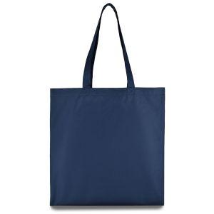 еко сумка з плащової тканини синя