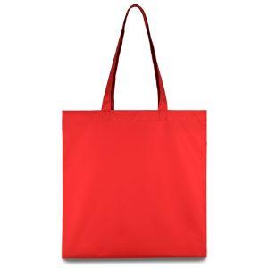 еко сумка з плащової тканини червона