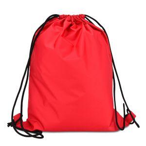 еко рюкзак із плащовки червоний