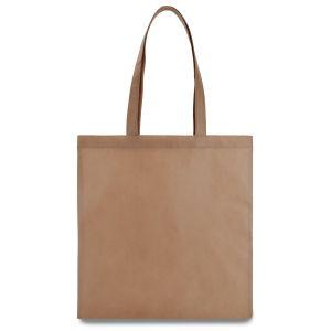 еко сумка зі спанбонду бежева