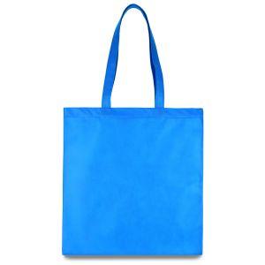 еко сумка зі спанбонду блакитна