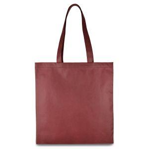 еко сумка зі спанбонду бордова