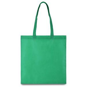 Еко-сумка ЗЕЛЕНА зі  спанбонду - Фото - 1