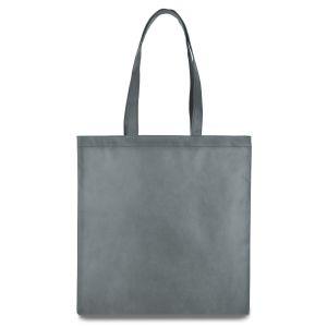 еко сумка зі спанбонду сіра