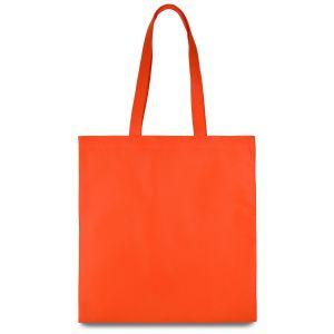 еко сумка зі спанбонду помаранчева