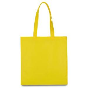 еко сумка зі спанбонду жовта