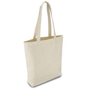 еко сумка з бавовни 36х38х7 см з дном