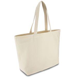 Еко-сумка з бавовни (50x14х38 см) - Фото - 1