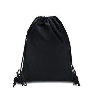 еко рюкзак із саржі чорний
