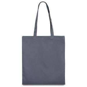 еко сумка з бавовни сіра
