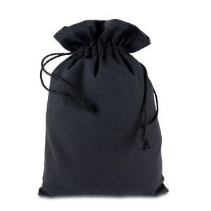 Мішок з бавовни чорний (20х30 см) - Фото - 1