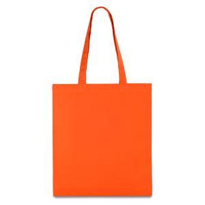 еко сумка з бавовни оранжева