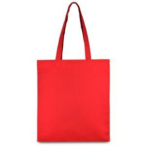 еко сумка з бавовни червона