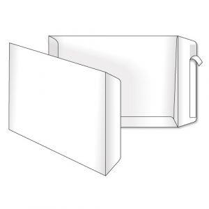 поштовий пакет В4 білий скл