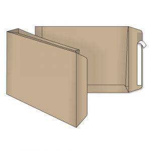 поштовий пакет В4 з розширенням крафт скл