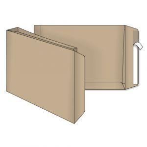 поштовий пакет С4 з розширенням скл крафт