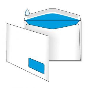 поштовий конверт С5 з вікном і внутрішнім друком
