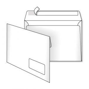 поштовий конверт С5 з вікном скл