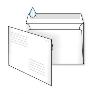 поштовий конверт С6 з адресною сіткою