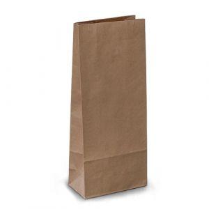 крафт пакет без ручок з пласким дном 11х6х27