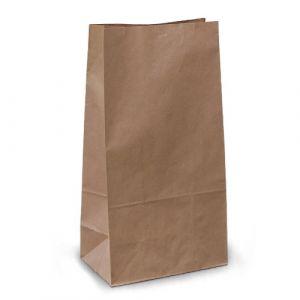 крафт пакет без ручок з пласким дном 19х12х39