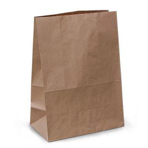 крафт пакет без ручок з пласким дном 28х15х38